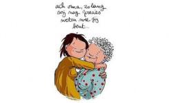Afbeelding kleindochter en oma