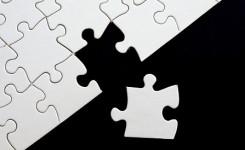 Afbeelding missend puzzelstukje