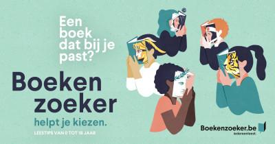Boeken zoeken doe je met ... de Boekenzoeker!
